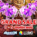 Audition-TGS2017-GrandSale2 3-5 nov 2017 banner