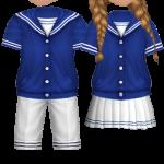 Audition-Blue Marine Couple Style
