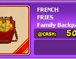 Audition-FRENCH FRIES Family Backpack