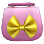 Audition-Yellow Ribbon Pink Pouch