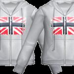 Audition-Flag Gray Hood T Shirt
