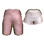 270318-Audition-Baby Color Cute Pants & Pink Lines Running Pants
