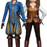 Audition-Boy Musketeer Costume & Girl Musketeer Costume