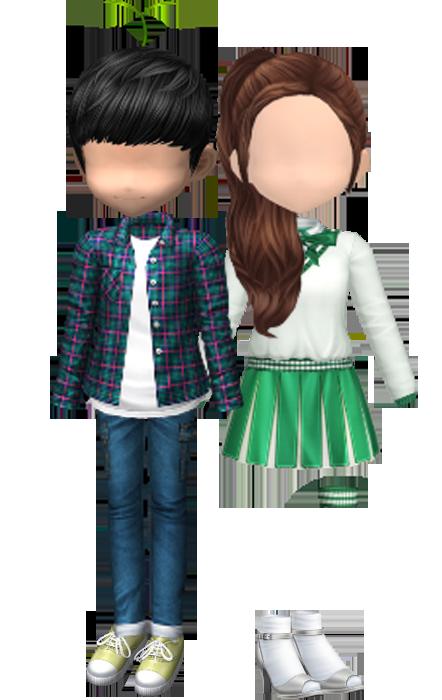 [AUDITION] โปรโมชั่น @Cash 55 บาท : ชุดนักเต้นหัวใจสีเขียว Green Couple