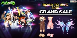 [AUDITION] ITEM SHOP : ROAD TO AWC 2018 GRAND SALE