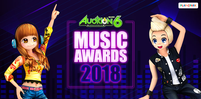[AUDITION] AUDITION MUSIC AWARD 2018