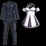You Are Wonderful Semi-Formal Set – Monochrome Dress 2