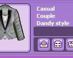 Casual couple Dandy Style