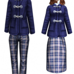 School Coat Couple Uniform Style