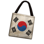 Taegeukgi patterned eco bag 30 วัน