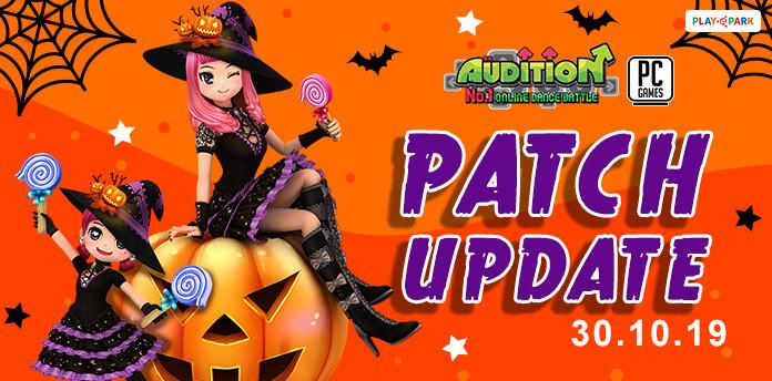 [AUDITION] 30 ตุลาคมนี้ อัปเดตไอเทม Mascot ใหม่ และเพิ่มระบบโอนหัวห้อง ห้ามพลาด !!!