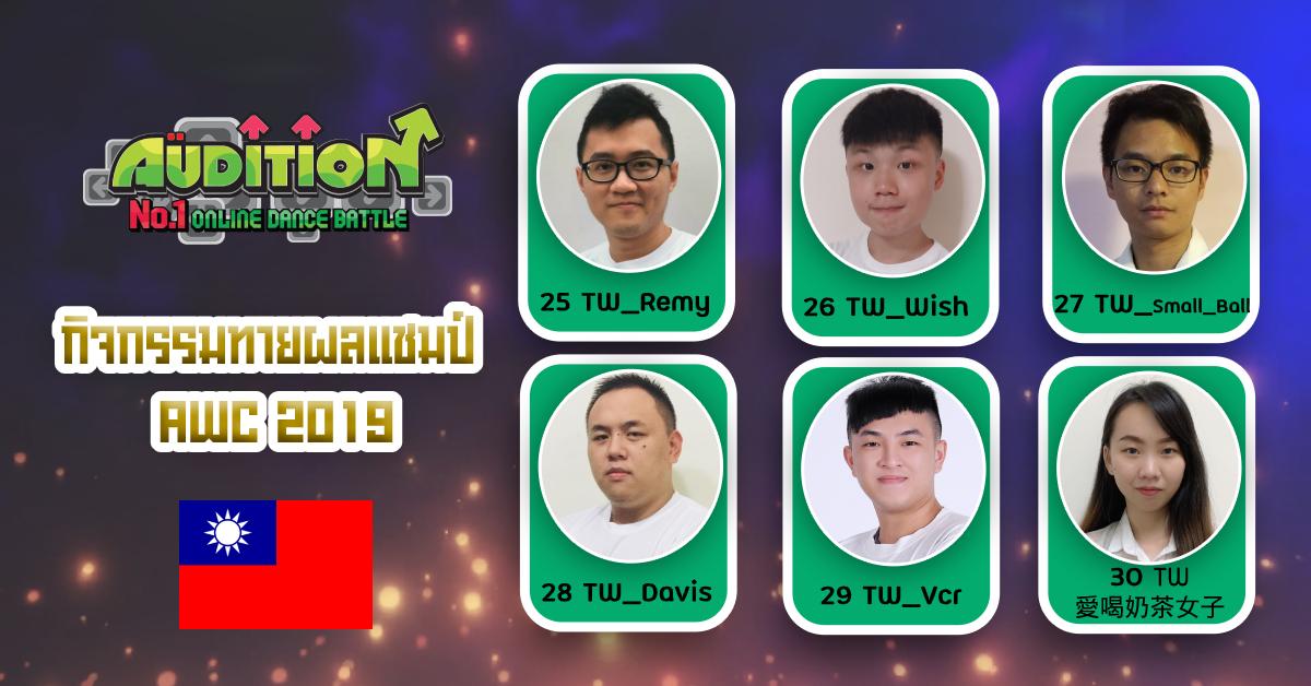 [AUDITION] เชียร์ทีมไทย SETH.WORLD WIDE WAVE คว้าชัยแชมป์โลก AWC 2019