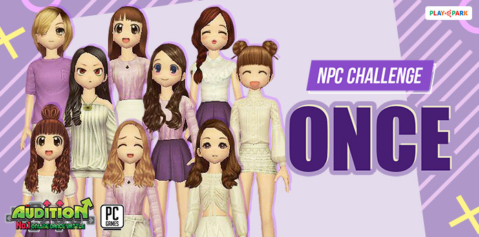 [AUDITION] NPC Challenge: AU ONCE
