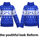 I like the youthful look Reform Style