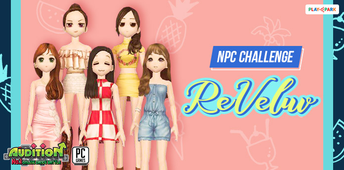 [AUDITION] NPC Challenge: AU ReVeluv