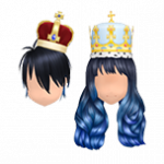 Blood King Snow Queen Blue