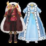 Blood King Snow Queen Set