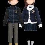 Elite School Uniform Couple Style