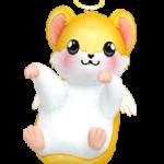 Hug Me Yellow Hamster