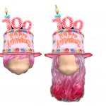 Happy Hot Pink Head