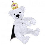 Hug Me Royal White Bear