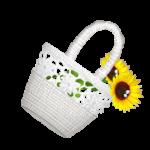 Sunflower Flower Handbag