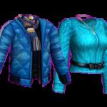 Aqua Blue Couple Style