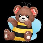 Hug Me Honey Bee Bear
