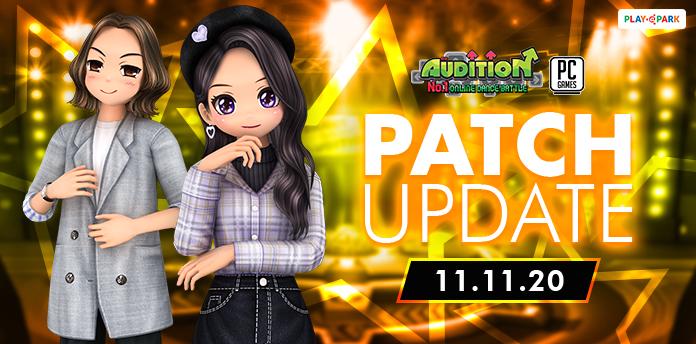 [AUDITION14th] 11 พฤศจิกายนนี้ อัปเดตเพลงใหม่ ,11.11 Resales และไอเทมใหม่อีกมากมาย !!