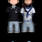 Casual Retro Concept Couple Style1