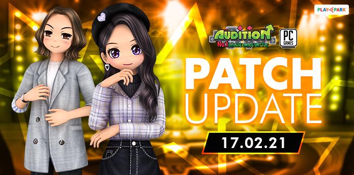 17 กุมภาพันธ์นี้ Update เพลงใหม่, Listenning Event และไอเทมใหม่ !!